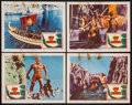 "Movie Posters:Fantasy, Jason and the Argonauts (Columbia, 1963). Lobby Cards (4) (11"" X 14""). Fantasy.. ... (Total: 4 Items)"