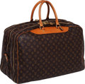 Luxury Accessories:Travel/Trunks, Louis Vuitton Classic Monogram Canvas Alize 24 Heures SoftsidedLuggage. ...