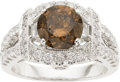 Estate Jewelry:Rings, Fancy Diamond, Diamond, Gold Ring. ...