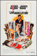 """Movie Posters:James Bond, Live and Let Die (United Artists, 1973). One Sheet (27"""" X 41"""") Flat Folded. James Bond.. ..."""