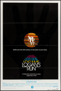 """Movie Posters:Science Fiction, Logan's Run (MGM, 1976). One Sheet (27"""" X 41"""") Flat Folded Advance.Science Fiction.. ..."""