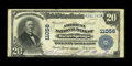 National Bank Notes:Kansas, Baxter Springs, KS - $20 1902 Plain Back Fr. 658 The American NB Ch. # 11056. This institution was not chartered until ...