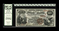 National Bank Notes:Kentucky, Bowling Green, KY - $10 1882 Brown Back Fr. 490 The Citizens NB Ch.# (S)5900. An absolutely gorgeous example which is p...