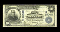 "National Bank Notes:Kentucky, Jenkins, KY - $10 1902 Plain Back Fr. 628 The First NB Ch. #(S)10062. This note displays the title ""First National"" ado..."