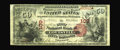 National Bank Notes:Kentucky, Louisville, KY - $50 1875 Fr. 444 The First NB Ch. # 109. The FirstCharter $50 offered here is one of just six recorded...