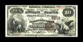 National Bank Notes:Kentucky, Louisville, KY - $10 1882 Brown Back Fr. 490 The NB of Kentucky Ch.# 5312. A bright and well centered Brown Back which ...