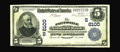 National Bank Notes:Kentucky, Paintsville, KY - $5 1902 Plain Back Fr. 598 The Paintsville NB Ch.# (S)6100. This bank issued Third Charter designs wi...