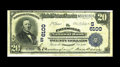 National Bank Notes:Kentucky, Paintsville, KY - $20 1902 Date Back Fr. 647 The Paintsville NB Ch.# (S)6100. A Fine-Very Fine Date Back with hand ...
