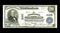 National Bank Notes:Kentucky, Paintsville, KY - $20 1902 Plain Back Fr. 660 The Paintsville NBCh. # 6100. Yet another in the exceptionally broad offe...