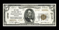 National Bank Notes:Kentucky, Paintsville, KY - $5 1929 Ty. 2 The First NB Ch. # 13763. Thisserial #4 note is listed in the census as AU, but we feel...