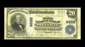 National Bank Notes:Kentucky, Pikeville, KY - $20 1902 Plain Back Fr. 650 The First NB Ch. #6622. This Very Good note is one of a scant five $20 ...