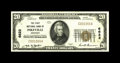 National Bank Notes:Kentucky, Pikeville, KY - $20 1929 Ty. 1 The First NB Ch. # 6622. An idealexample as a representative of this type in a state set...
