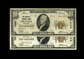 National Bank Notes:Kentucky, Both Types of Pikeville $10 1929 Issues. Pikeville, KY - $10 1929Ty. 1 Pikeville NB Ch. # 7030 VF. Pikeville, KY - $10 ... (Total: 2notes)