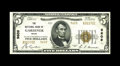 National Bank Notes:Maine, Gardiner, ME - $5 1929 Ty. 2 The NB of Gardiner Ch. # 9609. A verytough Kennebec County bank with a total census popula...
