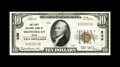 National Bank Notes:Maine, Skowhegan, ME - $10 1929 Ty. 1 The First NB Ch. # 239. Of the twoissuers located here, this was the only one that was s...