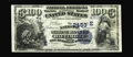 National Bank Notes:Maryland, Baltimore, MD - $100 1882 Date Back Fr. 571 The National MarineBank Ch. # (E)2453. While listed in the census for many ...