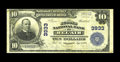 National Bank Notes:Maryland, Bel Air, MD - $10 1902 Plain Back Fr. 626 The Second NB Ch. # 3933.A new piece to the census from this sought after Har...