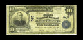 National Bank Notes:Maryland, New Windsor, MD - $10 1902 Plain Back Fr. 624 The First NB Ch. #747. A handful of survivors are known from this institu...