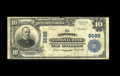 National Bank Notes:Maryland, Towson, MD - $10 1902 Plain Back Fr. 626 The Towson NB Ch. # 3588.This is a scarce note with top edge wear and signatur...