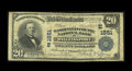 National Bank Notes:Maryland, Williamsport, MD - $20 1902 Plain Back Fr. 651 The WashingtonCounty NB Ch. # (E)1551. This is from a scarce one bank to...