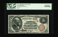 National Bank Notes:Michigan, Detroit, MI - $5 1882 Brown Back Fr. 477 The Commercial NB Ch. # (M)2591. Most of the uncirculated Brown Backs from Mich...