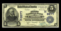 National Bank Notes:Missouri, Cabool, MO - $5 1902 Plain Back Fr. 605 The First NB Ch. # (M)8877.A very scarce one bank community where the sole issu...