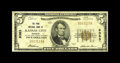 National Bank Notes:Missouri, Kansas City, MO - $5 1929 Ty. 1 The Park NB NB Ch. # 9383. This isjust the eleventh note known from here in small size,...