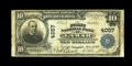 National Bank Notes:Missouri, Lamar, MO - $10 1902 Plain Back Fr. 626 The First NB Ch. # 4057.This small Barton County locale supported just one issu...
