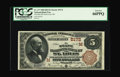 National Bank Notes:Missouri, Saint Louis, MO - $5 1882 Brown Back Fr. 477 The State NB Ch. #(M)5172. This is a nicely margined Brown Back with great...