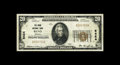 National Bank Notes:Nevada, Reno, NV - $20 1929 Ty. 1 The Reno NB Ch. # 8424. A pleasing small example from this much in demand state. We sold a con...