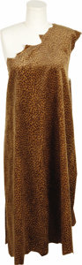 "Movie/TV Memorabilia:Costumes, Costume from ""Flintstones in Viva Rock Vegas."" A leopard-print tunic worn in Flintstones in Viva Rock Vegas. The one-sho... (Total: 1 Item)"