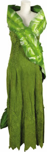 "Movie/TV Memorabilia:Costumes, Suede Dress Worn in ""Flintstones in Viva Rock Vegas."" A floor-length suede dress worn by Cheryl Holdridge-Post, as ""Geneviev... (Total: 1 Item)"