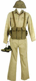 "Movie/TV Memorabilia:Costumes, ""We Were Soldiers"" Costume NVA Uniform. A costume North VietnamArmy uniform worn by an extra in the 2002 war drama featurin...(Total: 1 Item)"