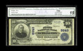 National Bank Notes:North Carolina, Burlington, NC - $10 1902 Plain Back Fr. 626 The First NB Ch. # 8649. According to census records there is only one not...