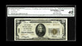 National Bank Notes:North Carolina, Durham, NC - $20 1929 Ty. 2 The Citizens NB Ch. # 7698. In our last Signature sale the only reported $5 Type 2 from her...