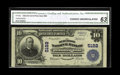 National Bank Notes:North Carolina, Wilmington, NC - $10 1902 Plain Back Fr. 632 The Murchison NB Ch. # 5182. The signatures are strong on this $10 graded ...