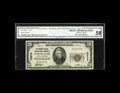 National Bank Notes:North Carolina, Winston-Salem, NC - $20 1929 Ty. 1 The Farmers NB & TC Ch. # 12278. This bright white example did not pass through many ...