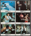 "Movie Posters:James Bond, From Russia with Love (MGM/UA, R-1984). Lobby Cards (6) (11"" X 14""). James Bond.. ... (Total: 6 Items)"