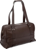 Luxury Accessories:Travel/Trunks, Hermes Havane Swift Leather Overnight Weekender Travel Bag. ...