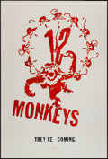 """Movie Posters:Science Fiction, Twelve Monkeys (Universal, 1995). One Sheets (2) (27"""" X 40"""") DSRegular & Advance. Science Fiction.. ... (Total: 2 Items)"""
