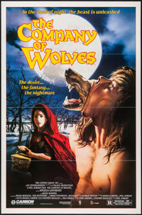 "The Company of Wolves & Others Lot (Cannon, 1985). One Sheets (4) (27"" X 40"" & 27"" X 41&q..."