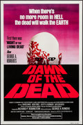 """Movie Posters:Horror, Dawn of the Dead (United Film Distribution, 1978). One Sheet (27"""" X 41"""") Red Style. Horror.. ..."""