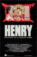 "Movie Posters:Crime, Henry: Portrait of a Serial Killer (Maljack, 1990). One Sheet (25""X 38.5""). Crime.. ..."