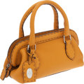 Luxury Accessories:Bags, Fendi Mustard Yellow Selleria Leather Small Doctor Bag. ...