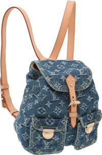 Louis Vuitton Neo Monogram Denim Backpack