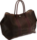 Luxury Accessories:Bags, Hermes 50cm Amazonia and Havane Buffalo Garden Party TGM Tote Bag. ...