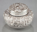 Silver Holloware, American:Boxes, A SHIEBLER SILVER COVERED JAR. George W. Shiebler & Co., NewYork, New York, circa 1900. Marks: (winged S), STERLING,2286...