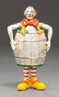 Silver & Vertu:Smalls & Jewelry, A TIFFANY & CO. SILVER AND ENAMEL CIRCUS CLOWN DESIGNED BY GENE MOORE . Tiffany & Co., New York, New York, circa 1990. Gene ...