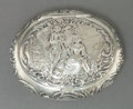 Silver Smalls:Snuff Boxes, A GEORG ROTH & CO. HANAU SILVER AND SILVER GILT SNUFF BOX .Georg Roth & Co., Hanau, Germany, circa 1900. Marks:(crowned)...