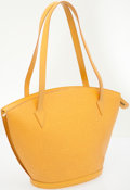 Luxury Accessories:Bags, Louis Vuitton Yellow Epi Leather St Jacques Shoulder Bag. ...
